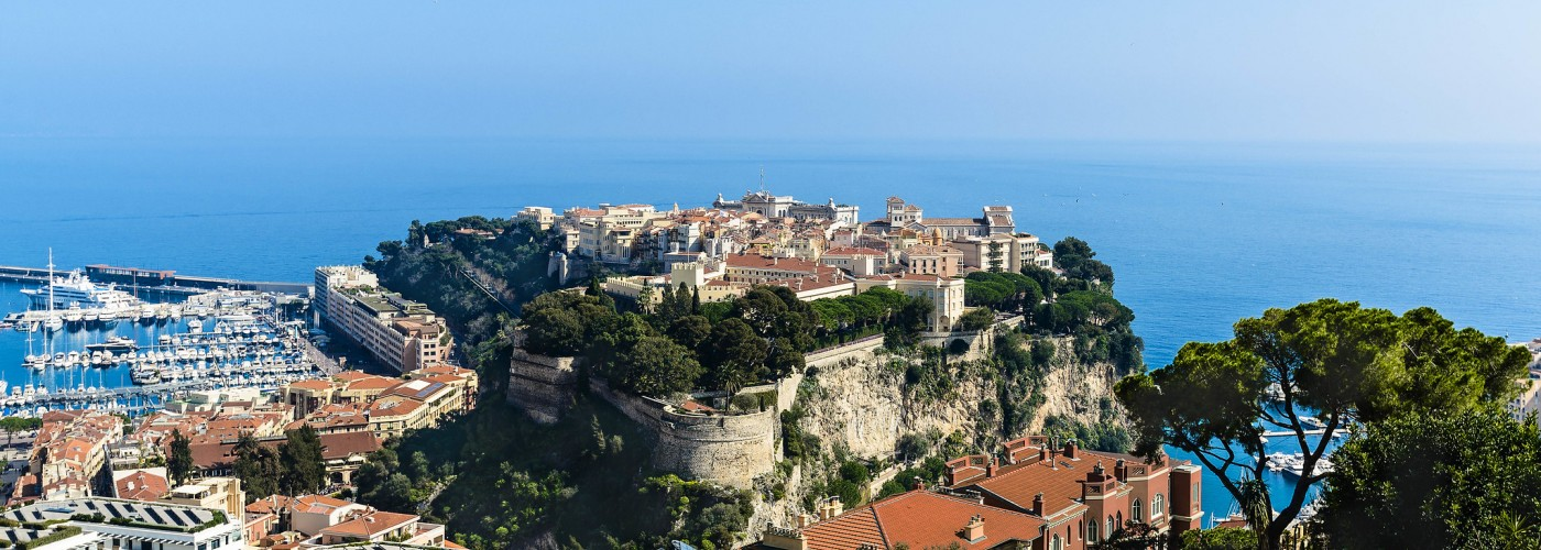 Монако — карточка районов