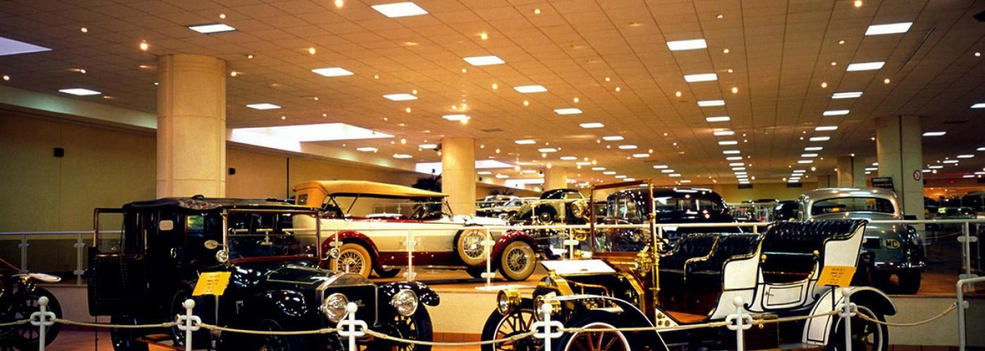 Музей старинных автомобилей принца Ренье III