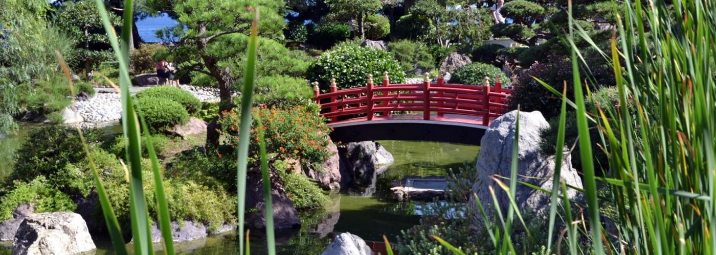 Японский сад, Монако