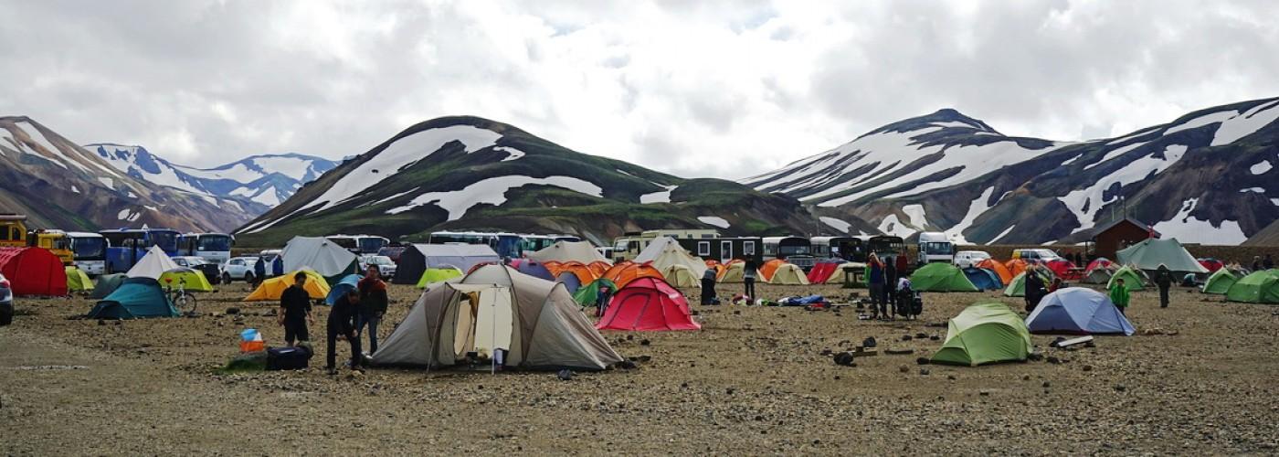 По Исландии с палаткой. Что нужно знать о местных кемпингах