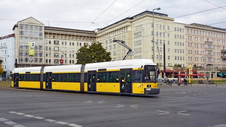 Трамвай в Берлине