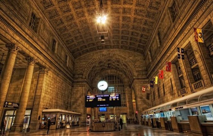 Центральный вокзал Торонто