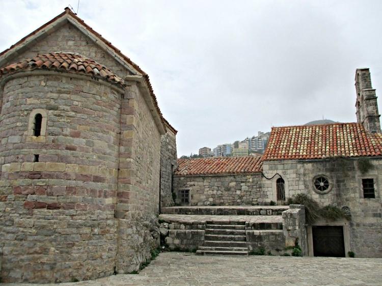 Церковь св. Саввы, Старый город Будва