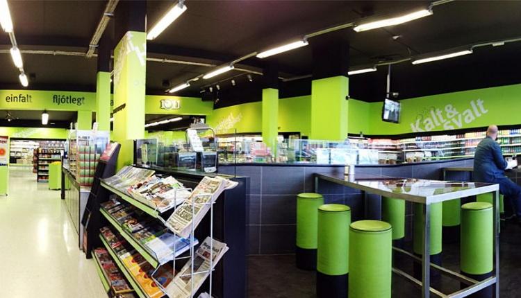 Сеть супермаркетов 10-11 в Исландии