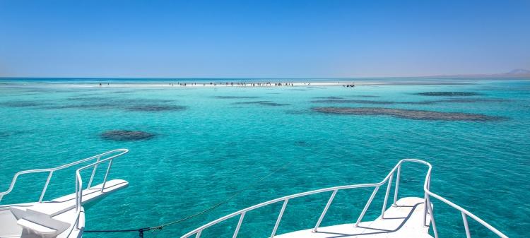 Белый остров в Шарм-эль-Шейхе