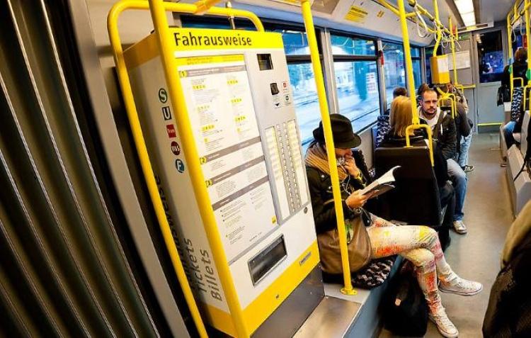 Купить билет на общественный транспорт в Берлине