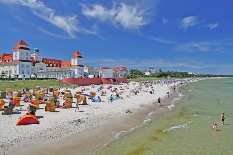 Отдых на пляже в Германии