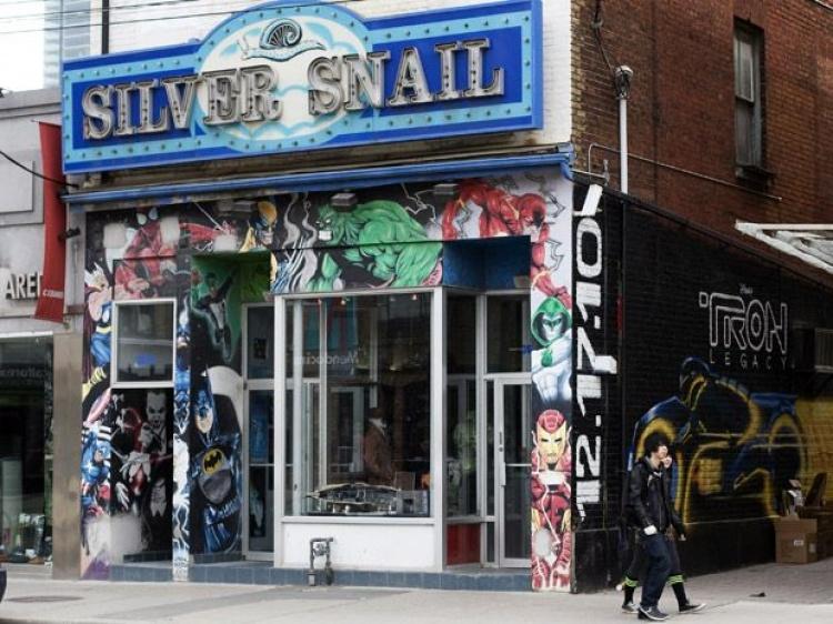 Магазин комиксов Silver Snail в Торонто