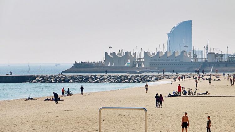 Пляж Bogatell, Барселона