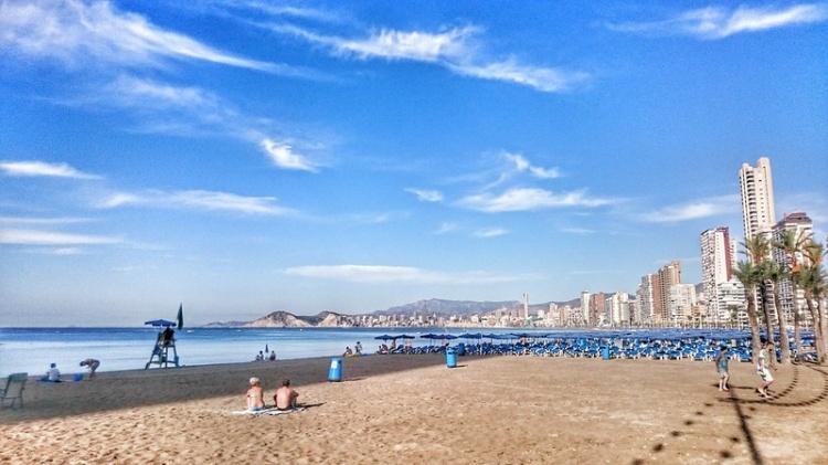 Пляж Леванте, Испания, Levante