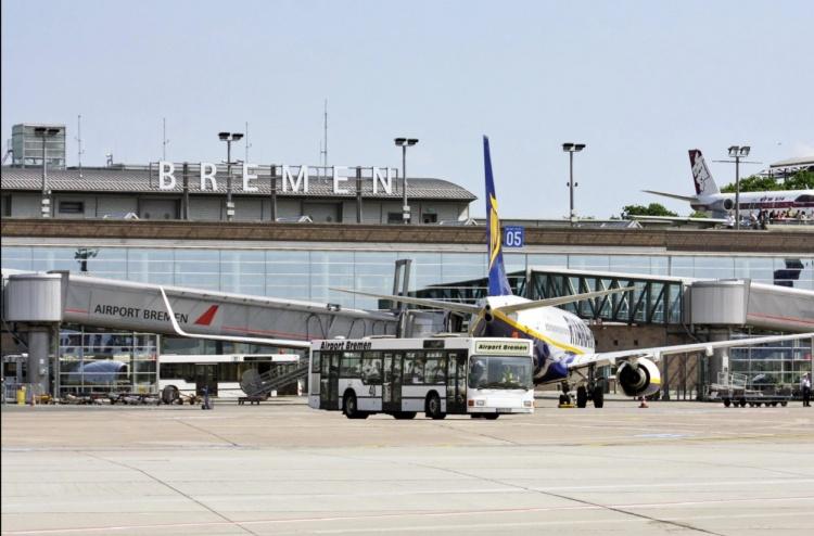 Аэропорт в Бремене