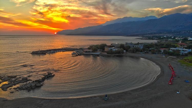 Пляж Франгокастелло, Крит