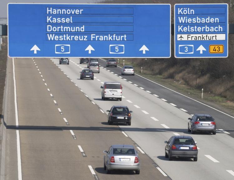Немецкие автомагистрали