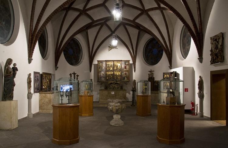 Экспозиции в Бранденбургском музее в Берлине
