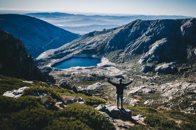 Центральный регион Португалии, горы Серра де Эштрела