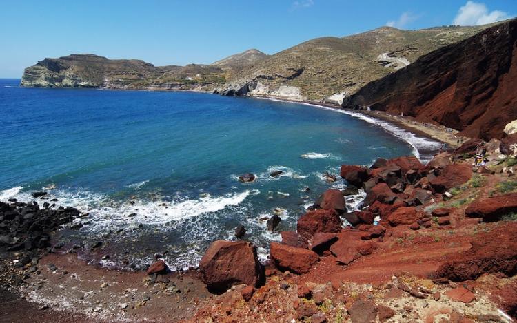Красный пляж, Крит