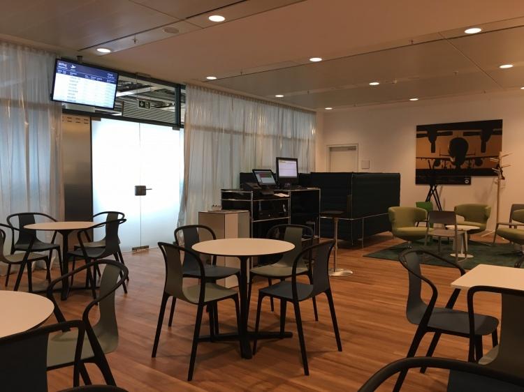 Лаунж зона в аэропорту Бремен