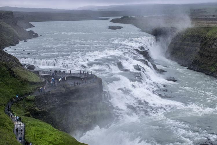 Водопад Гюдльфосс (Золотой водопад)