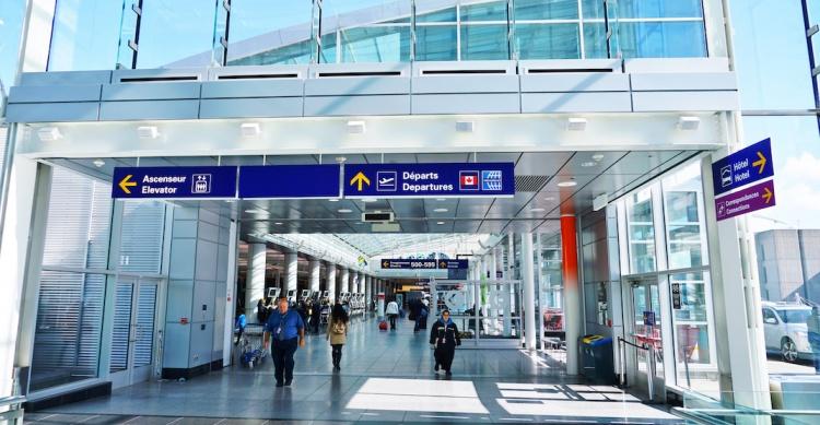 Международный аэропорт им. Пьера Эллиота Трюдо в Монреале