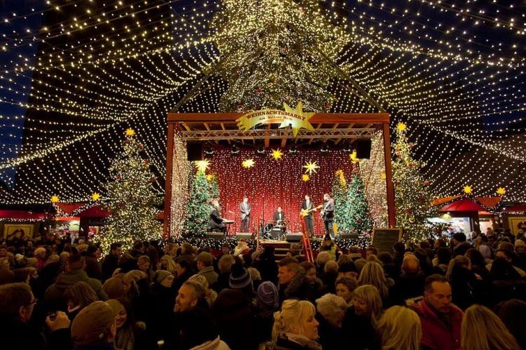 Празднование новогодних праздников в Германии