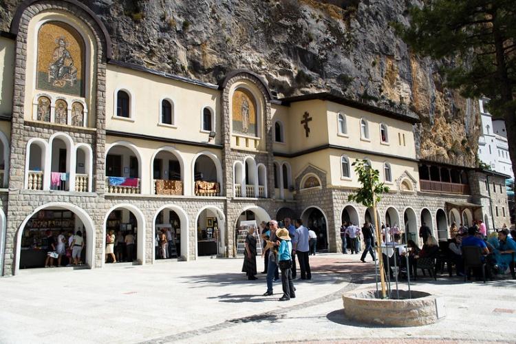 Монастырь Острог, фото