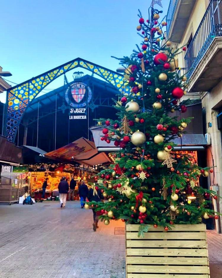 Рынок La Boqueria, Бареселона