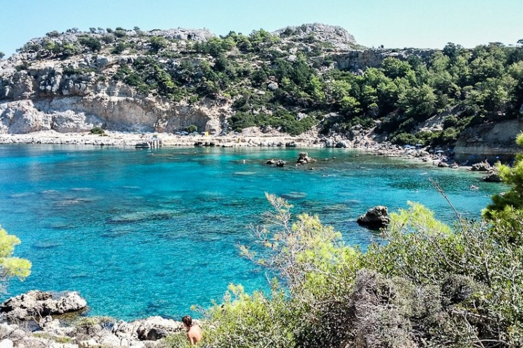 Пляж в Греции, Родос