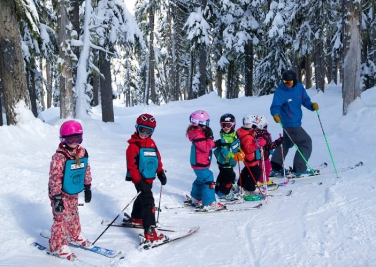 Горнолыжный курорт для детей в Канаде