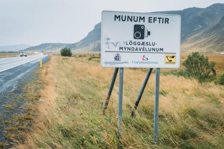 Правила дорожнего движения и штрафы в Исландии