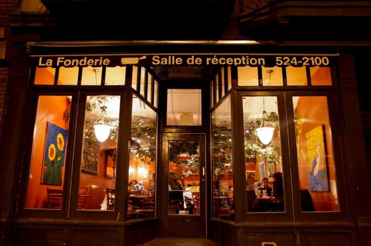 Ресторан «La Fonderie» в Монреале