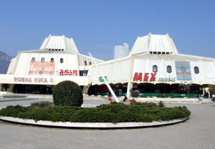 Магазины в городе Бар, Черногория