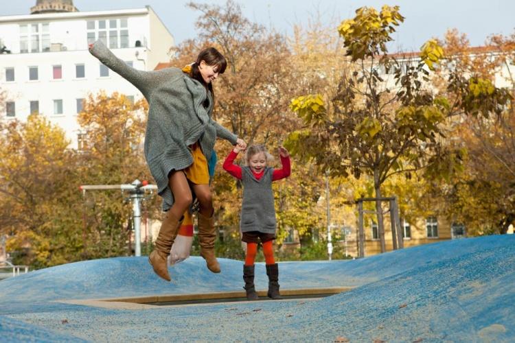 Осенью в Германии с ребенком