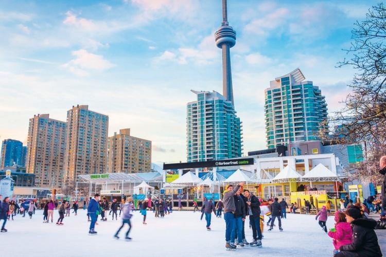 Зима в Торонто