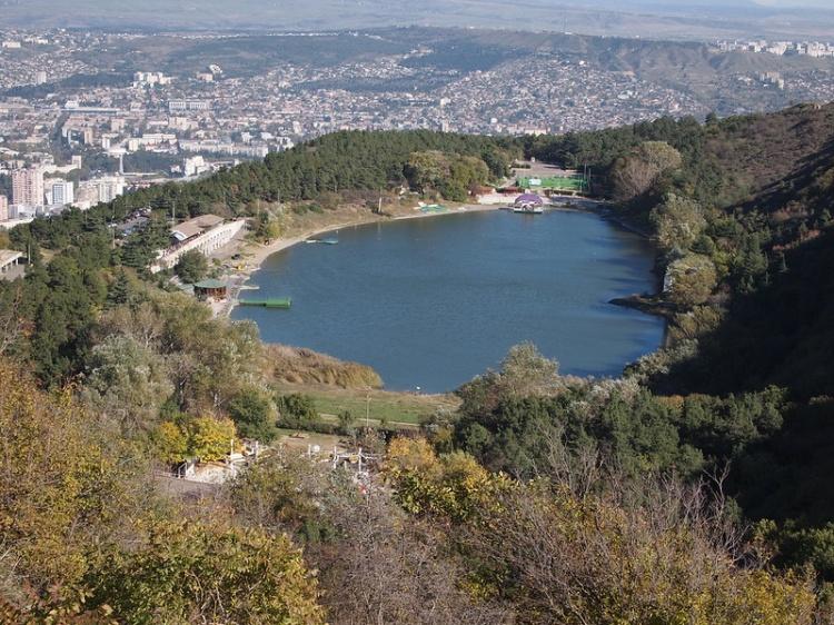 Черепашье озеро, фото, Тбилиси