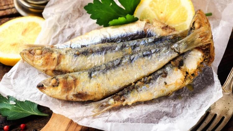 Жаренная рыба в Германии