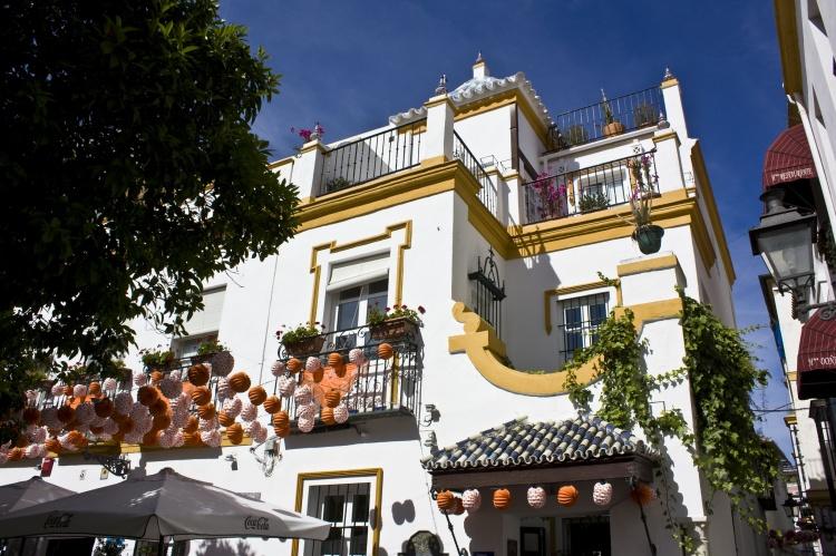 Старый город район в Севилье
