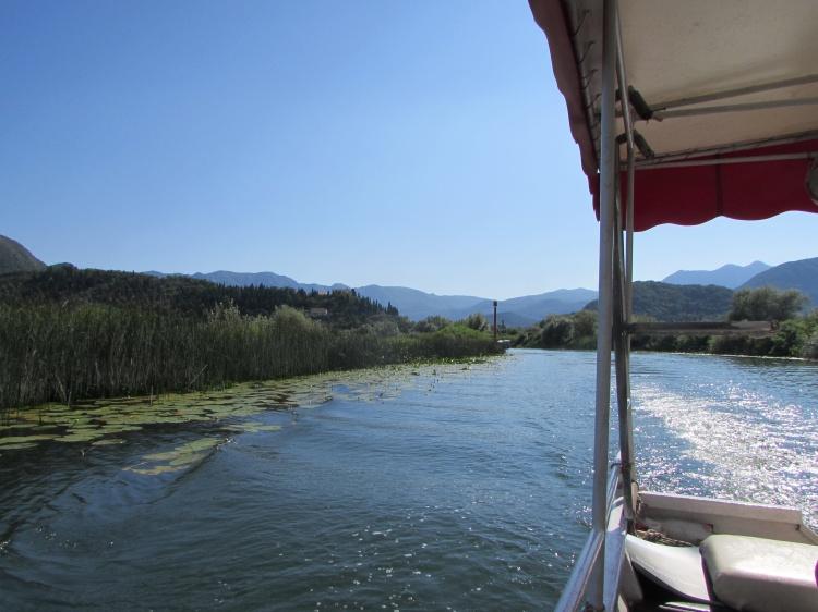 Скадарское озеро, прогулка на катере
