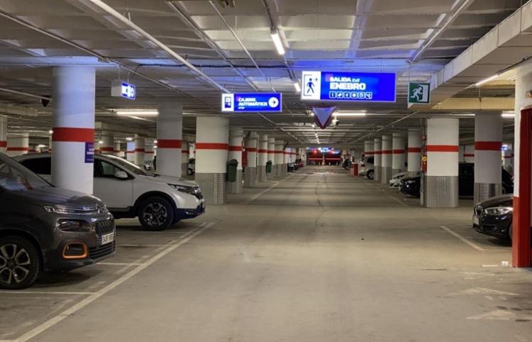 Подземная парковка в Сьерра Неваде
