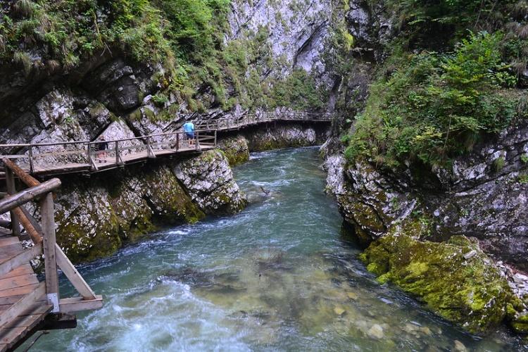 Словения, Ущелье Винтгар