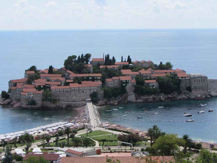 Лучшие пляжи Черногории, пляж Святой Стефан, Будва