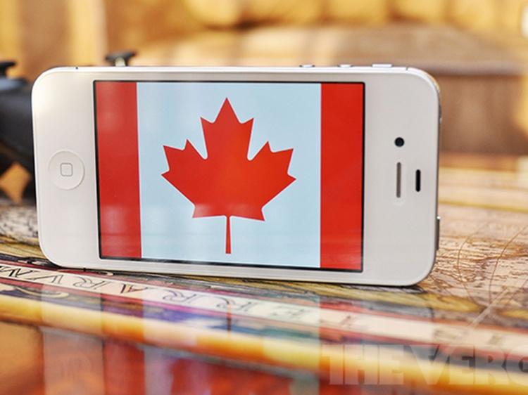 Роуминг в Канаде