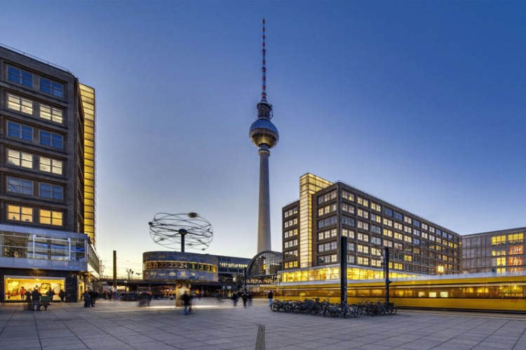 Центральная площадь Берлина
