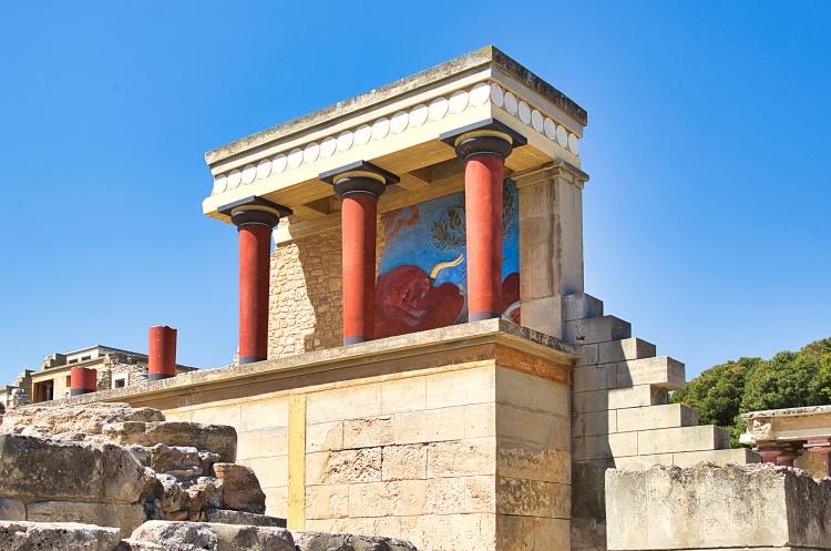 Кносский дворец на Крите, как добраться