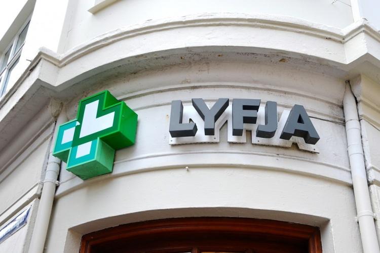 Аптека в Исландии