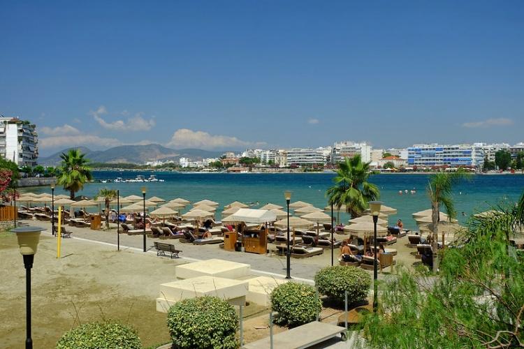 Пляж Астерия, Афины, Греция
