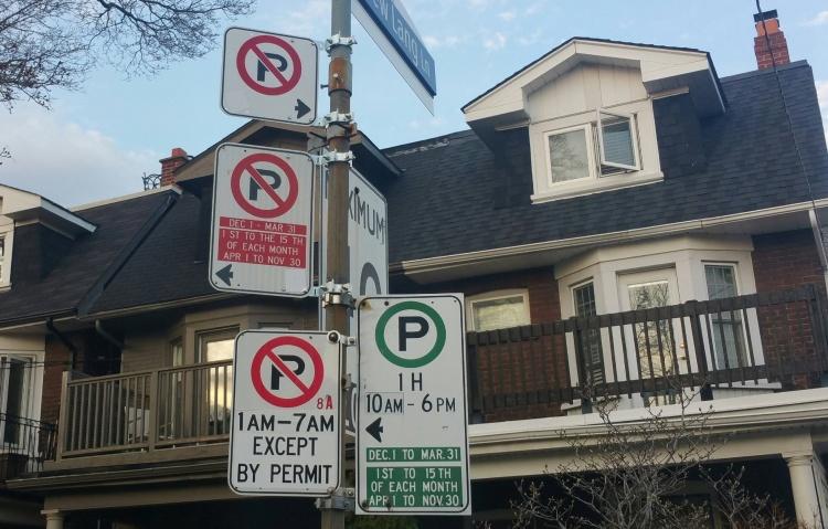 Парковки в Канаде