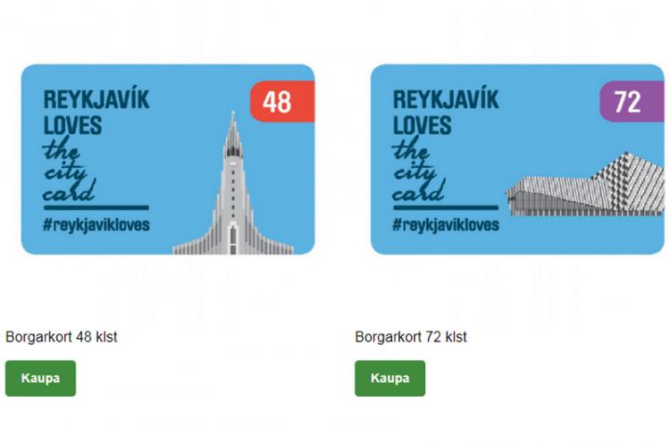 Проездной в Рейкьявике