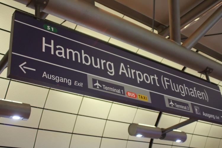 Аэропорт в Гамбурге