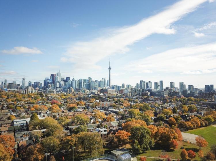 Осень в Торонто