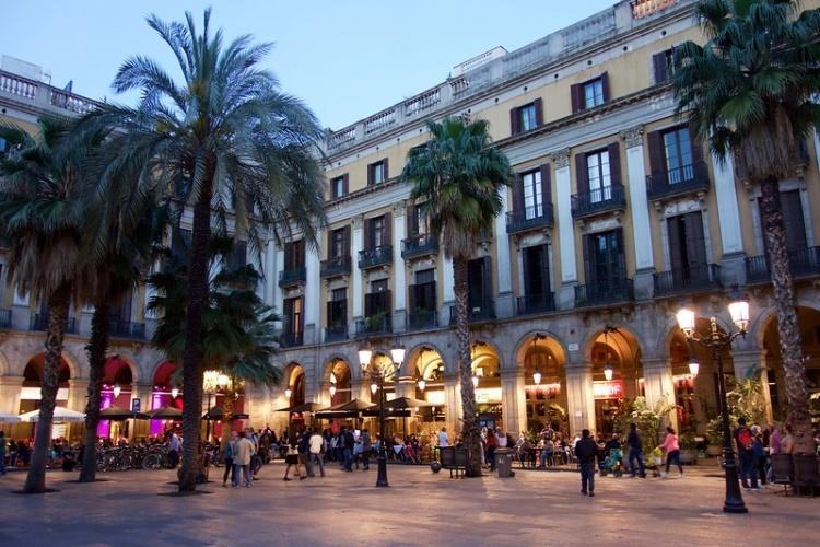 Пласа Реал, Барселона